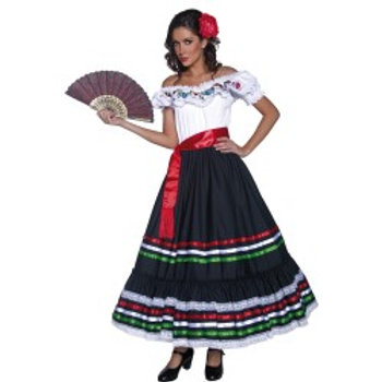 Authentic Western Sexy Senorita Costume SKU: 34449
