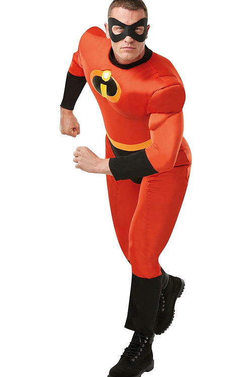 MR INCREDIBLE 2 DELUXE COSTUME – MENS. 820911 RUBIES