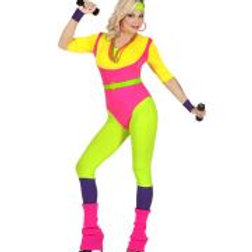 """80s AEROBICS INSTRUCTOR"" (jumpsuit, belt, W 48411"