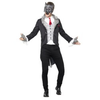 Big Bad Wolf Costume, Deluxe 44395 S