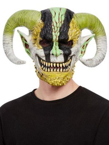 Horned Demon Overhead Mask, Latex. 68007 Smiffys