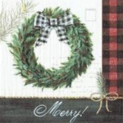 Cozy Knit Holiday Wreat Kaffe