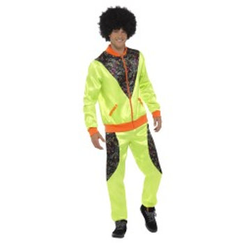Retro Shell Suit Costume, Mens 43081 S