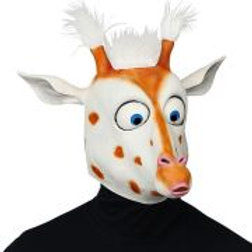 """BIG EYES GIRAFFE FULL HEAD MASK WITH PLUS.. W 03303"