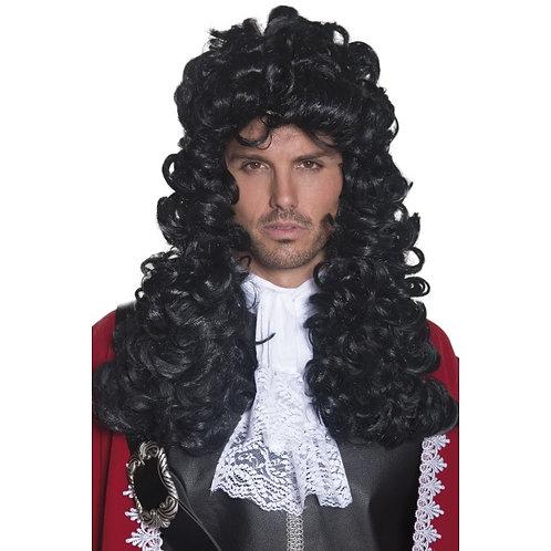 Pirate Captain Wig,Black
