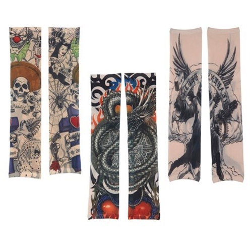 Pair of Miami Tattoo Sleeves. 6869I W