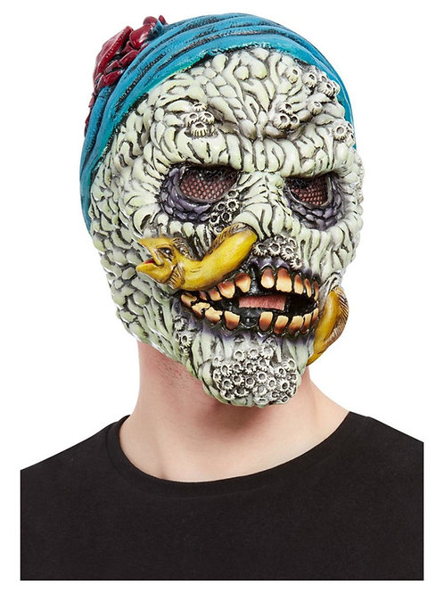 Barnacle Skull Pirate Overhead Mask. 68006 Smiffys