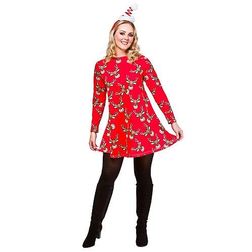 Christmas Dress XM-4628 W