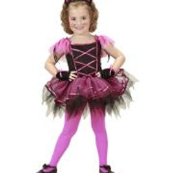 "BALLERINA CAT"" (tutu dress, ears, gloves) 2621C W"