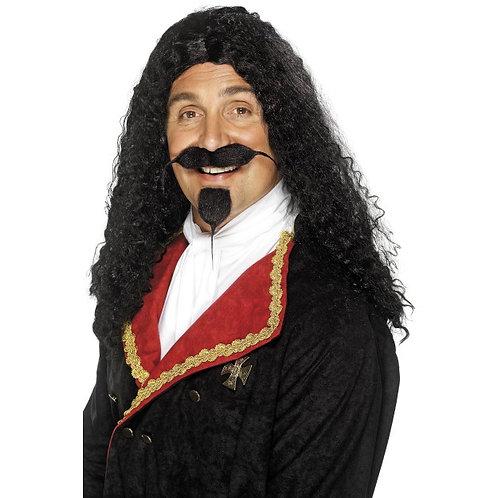 Musketeer Wig,Black