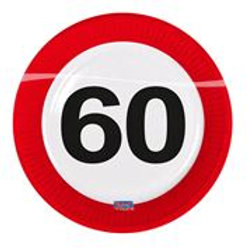 Plates 60 Traffic Sign 23cm /8 F 28160