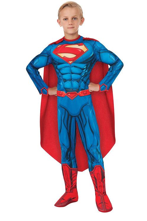 SUPERMAN DELUXE DIGITAL PRINT – CHILDRENS. 881367 RUBIES