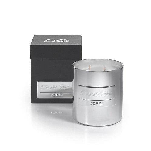 Dofta Silver Candle 400g - Cool Cotton