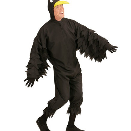 """CROW"""" (hooded jumpsuit with mask). 05641 Widmann"""
