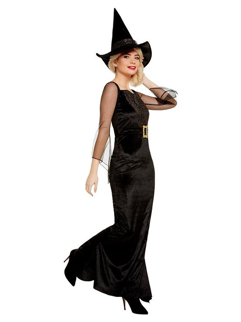 Glam Witch Costume. 51069 Smiffys
