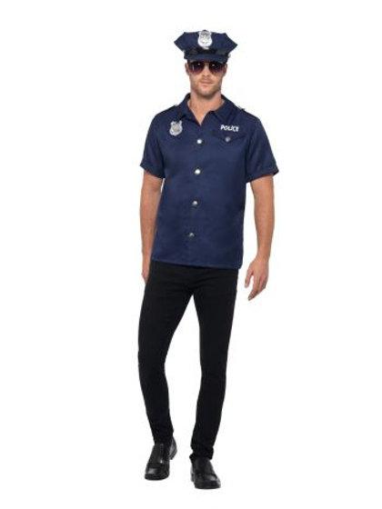 US Cop Costume S 47240