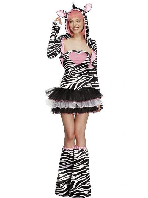 Fever Zebra Costume, Tutu Dress SKU 22798
