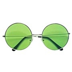 """""""THE 70s GLASSES WITH GREEN LENSES"""""""