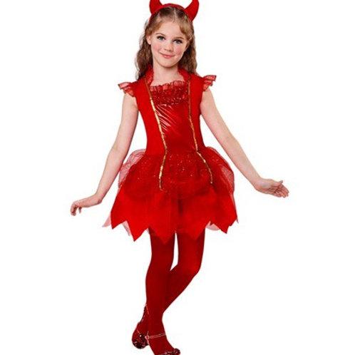 """DEVIL"""" (dress, horns). 07460 Widmann"""
