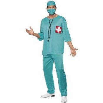 Surgeon Costume, Green 21781 S