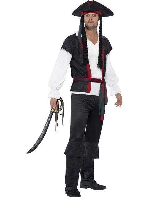 Aye Aye Pirate Captain Costume SKU 45492