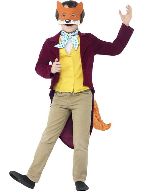 Roald Dahl Fantastic Mr Fox Costume SKU 27143