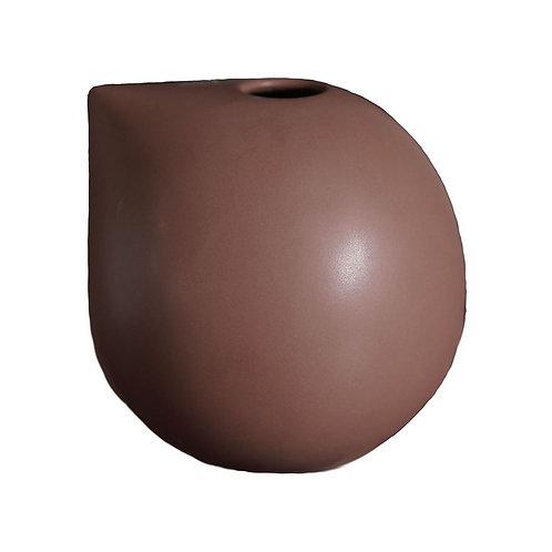 Nib Vase Medium, Maroon