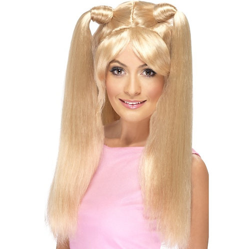 Baby Power Wig,Blonde. 42057 S