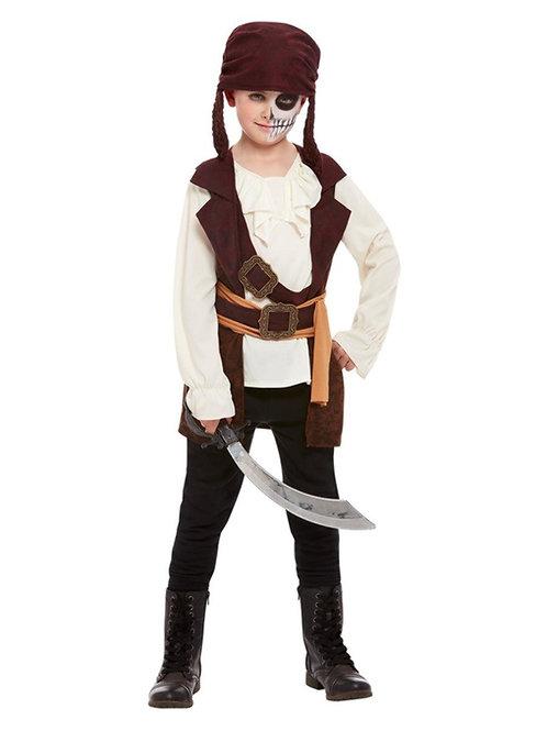 Boys Dark Spirit Pirate Costume. 64002 Smiffys