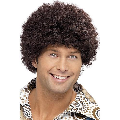 70'S Disco Dude Wig,Brown