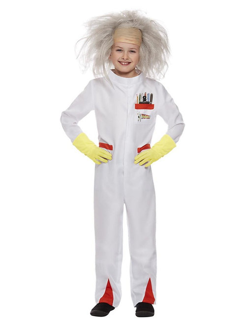 Back To The Future Doc Costume, Kids. 52311 Smiffys