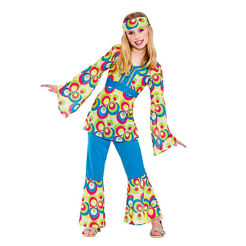 Retro Hippie Girl EG-3612W