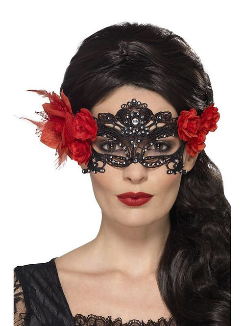 'DAY OF THE DEAD EYEMASK'. 44958 S