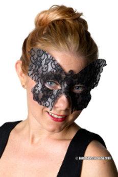 Maske - Svart sommerfugl