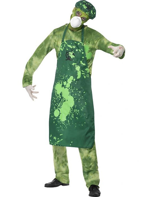 Biohazard Male Costume SKU 40049
