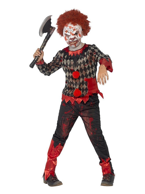 Zombie Clown Child Boy's Costume. 44293 Smiffys