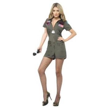 Top Gun Aviator Playsuit W/Sunglasses 27084 S