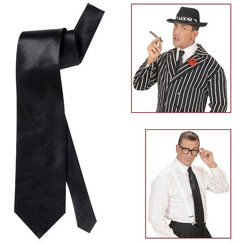 Mens Black Necktie. 2993A W