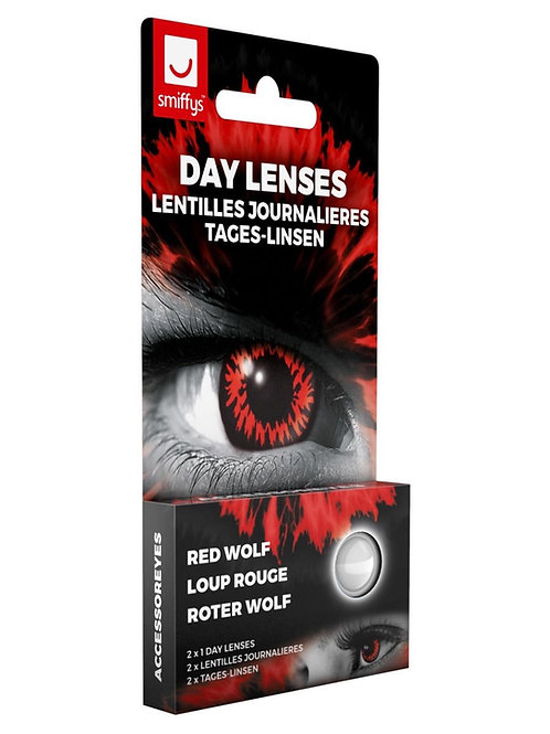 Accessoreyes Wolf, Red. 47110 S