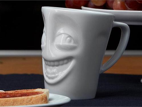 Tassen krus Vittig / Joking Hvit, 350ml
