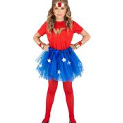 """WONDER GIRL"" (T-shirt, tutu, headpiece, c...  W 96548"