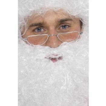 Santa Half Moon Specs, Silver 98014 S