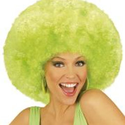 """EXTRA CURLY JIMMY WIG"""" green - in box 06828 W"""