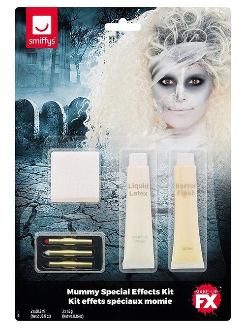 Smiffys Make-Up FX, Mummy Kit, White. 39671 S