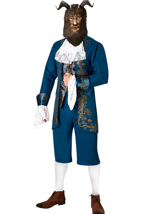 BEAST LIVE ACTION DELUXE COSTUME – MENS. 820452 RUBIES