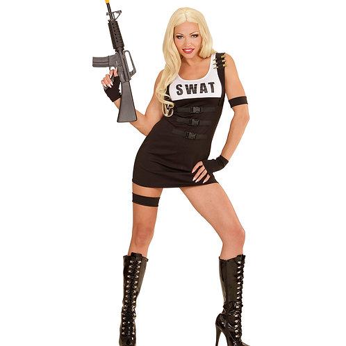 """""""S.W.A.T. GIRL"""" (dress, armband, garter, gloves)"""