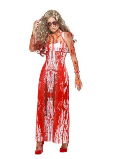 Bloody Prom Queen Costume. 47573 Smiffys