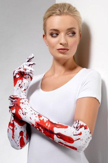 Blood Splatter Gloves 48441 S