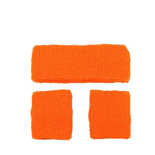 80's Sweatband & Wristbands AC-9334 W