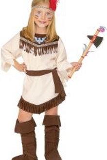 """""""INDIAN GIRL"""" (dress, belt, headband, boot... 43785 W"""